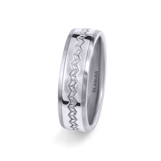 Men's Ring Steely Weave