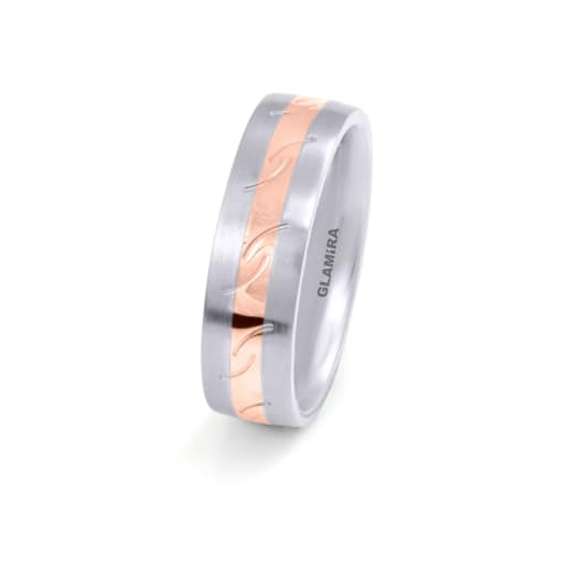 Bague pour femmes Steely Striped