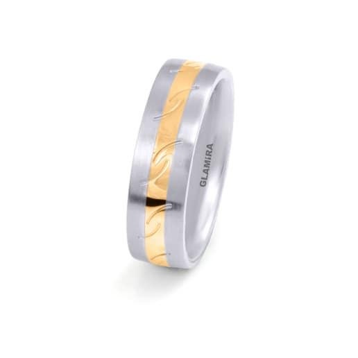 Women's ring Steely Striped