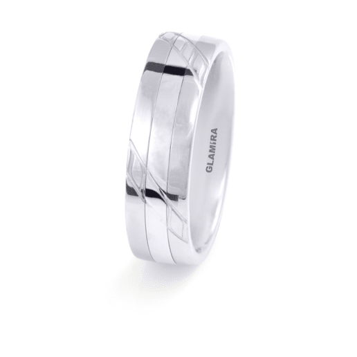 Women's ring Steely Plain