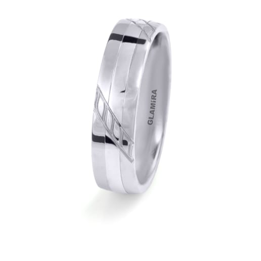 Men's Ring Steely Plain