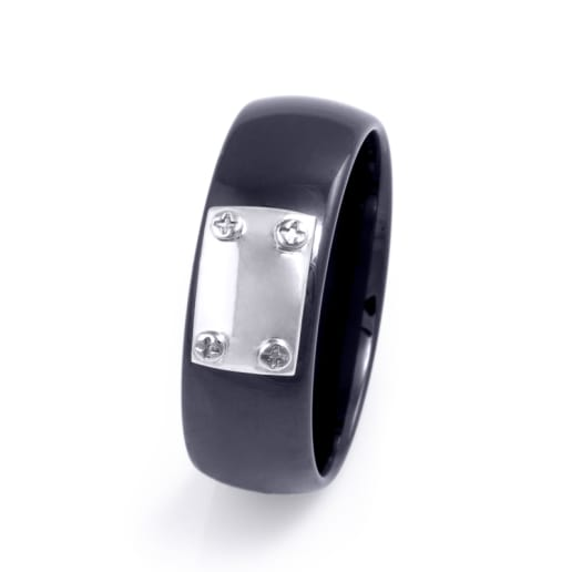 Men's Ring Ceramic Line