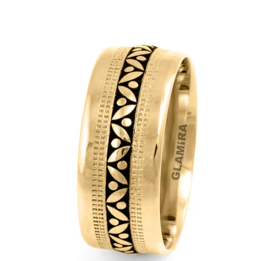 Men's Ring Ornate Sleek Basic