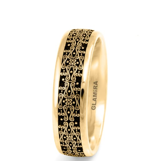 Men's Ring Ornate Dense
