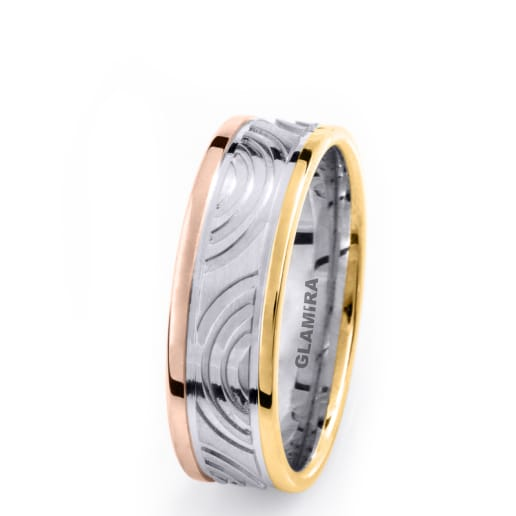 Men's Ring Striped Beauty