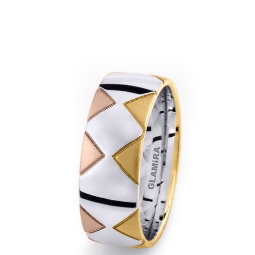 Men's Ring Elegant Pyramid