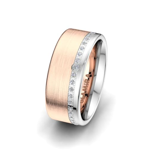 Ženski prsten Wondrous Valley 8 mm
