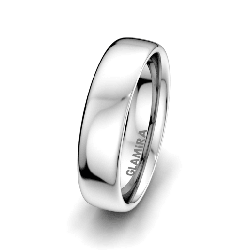 Men's Ring Bright Love 6 mm