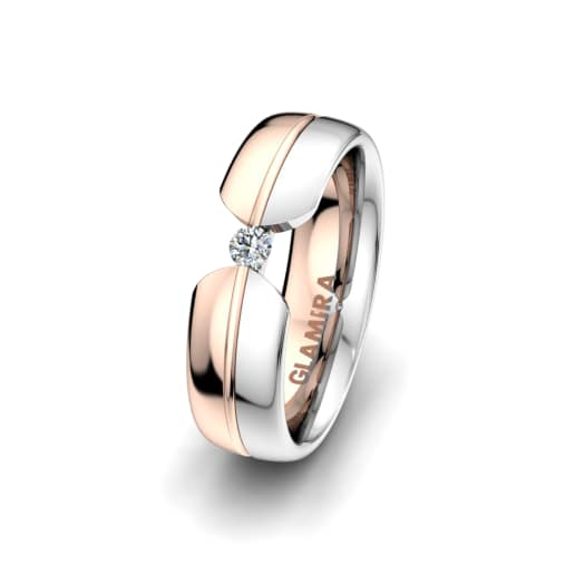 Women's ring Bright Nature 6 mm