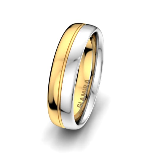 Men's Ring Bright Nature 6 mm