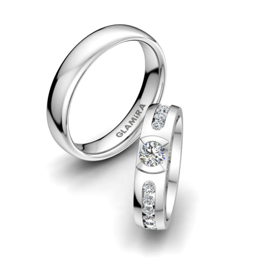 Order Exquisite Wedding Rings Bands Glamira Com