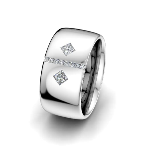 Women's ring Sharp Elegance 10 mm