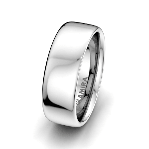 Men's Ring Sharp Elegance 8 mm