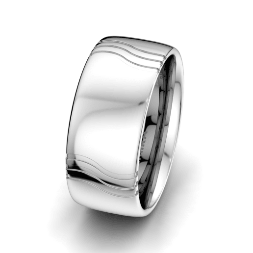 Men's Ring Signty Natura 10 mm