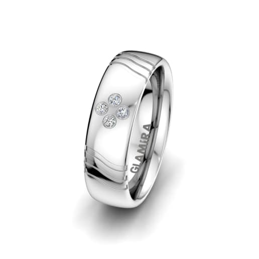 Women's ring Signty Natura 6 mm