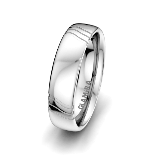 Men's Ring Signty Natura 6 mm