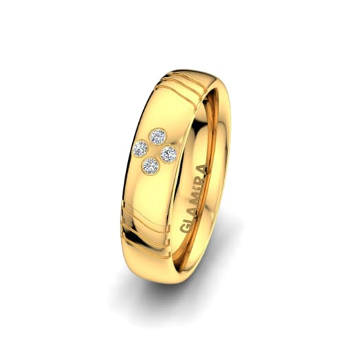 Women's ring Signty Natura 5 mm