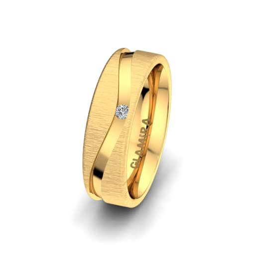 Anillo de mujer Bright Feather 6 mm