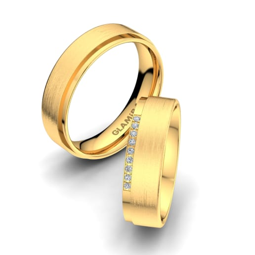 Get 375 Yellow Gold - Wedding Rings | Glamira com au