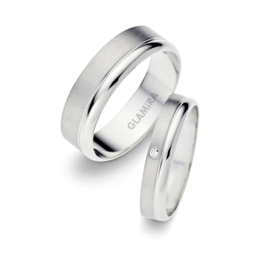 713ebf90094 Buy 950 Platinum - Wedding Rings | GLAMIRA.co.uk