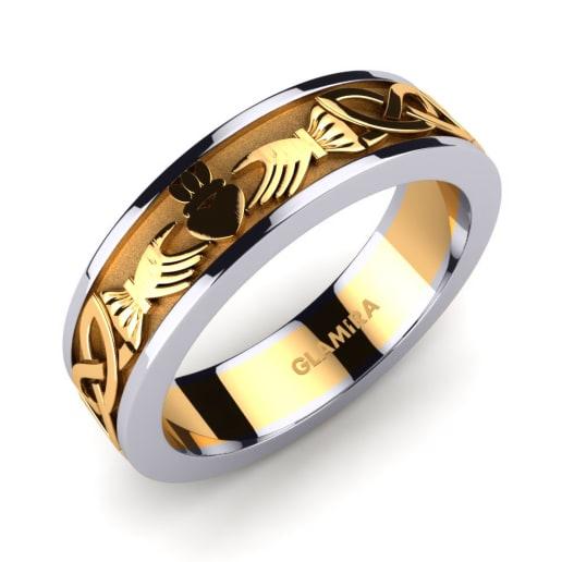 Men's Ring Celtic Claddagh