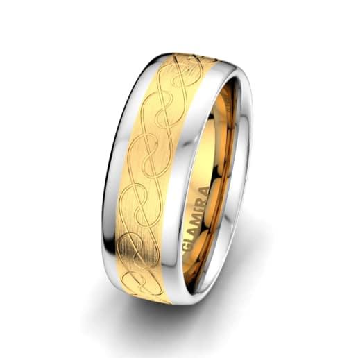 Moški prstani Smart Ornament 8 mm