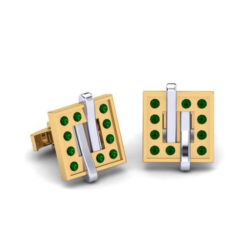 GLAMIRA Копчета за ръкавели Akerion