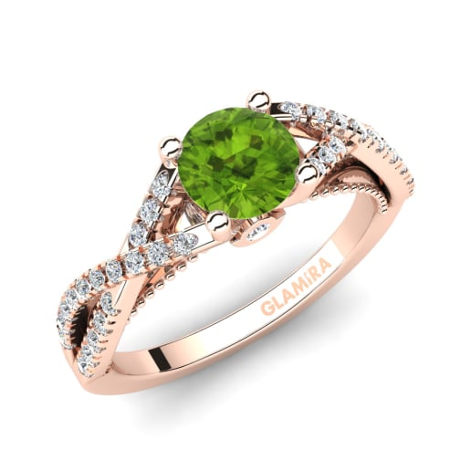 glamira ring amaranta - Peridot Wedding Rings