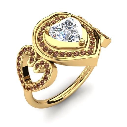 GLAMIRA Žiedas Anisah