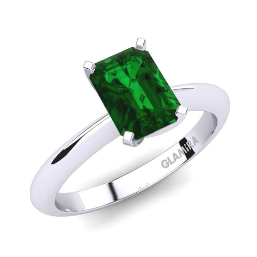 Buy Emerald Engagement Rings