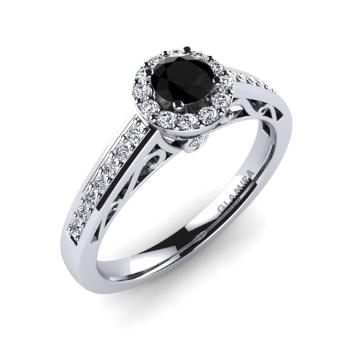 zoom diamond ca il black fullxfull ring flower engagement carat rings listing