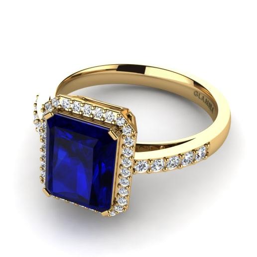 GLAMIRA Diamantni Prstan Saphira