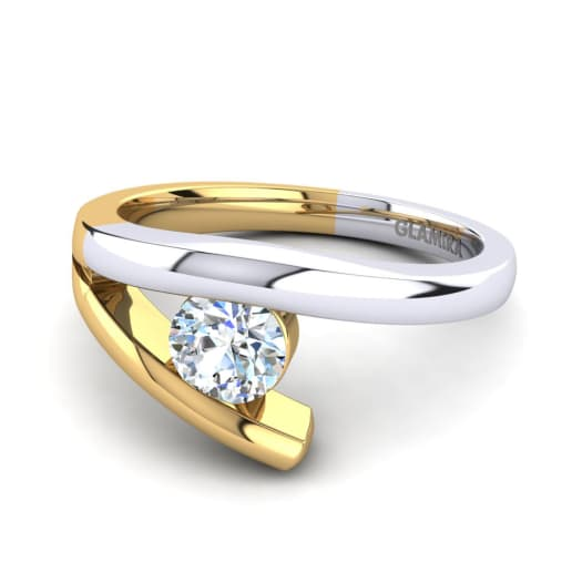 GLAMIRA Žiedas Clara 0.5crt