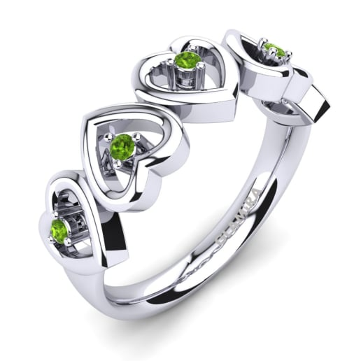 glamira ring marron - Peridot Wedding Rings