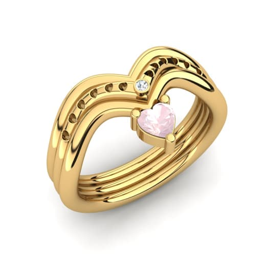 GLAMIRA Žiedas Pinnata