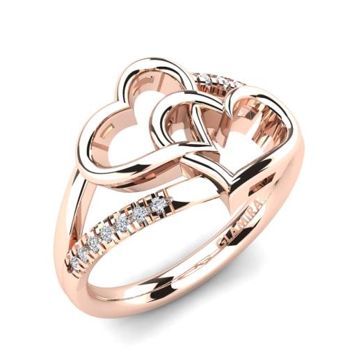 Iets Nieuws Koop 585 Rood Goud - Ringen | GLAMIRA.nl &YJ69