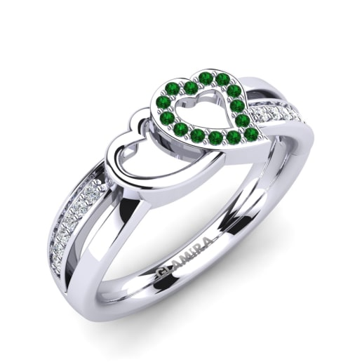 Köp Smaragd - Förlovningsringar  f49f978715c83