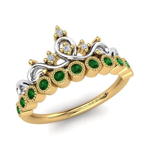 Kaufen Sie Smaragd Verlobungsringe Glamira De