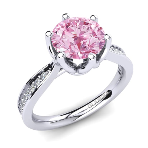 cut ring gia i antique untreated diamond cushion rings engagement ct sapphire pink
