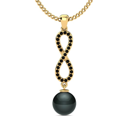 Köp Svart Diamant - Halsband  466c4a0e4e740