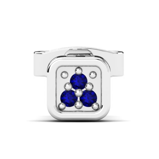 co mens earrings uk cfm sapphire thediamondstore