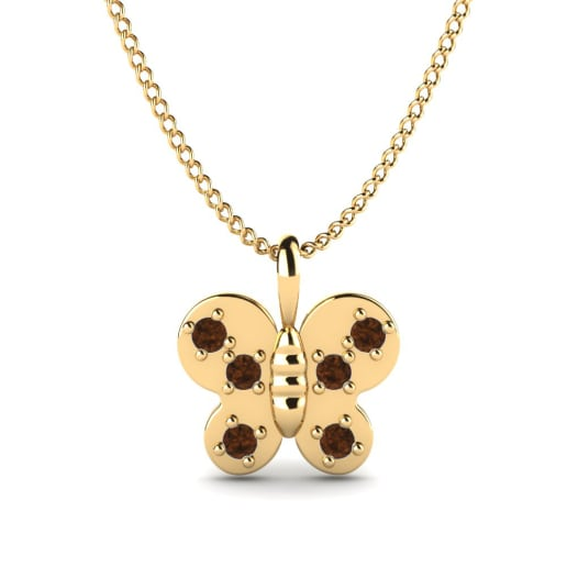 GLAMIRA Collier Butterfly