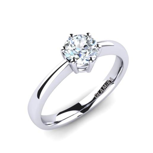 Kaufen Sie Weisser Saphir Verlobungsringe Glamira De