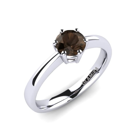 448afceac Kúpiť Dymový-kremeň - Zásnubné prstene | GLAMIRA.sk