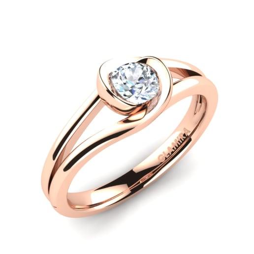 e38c3aede08a Compre 585 Oro Rosa - Anillos de compromiso