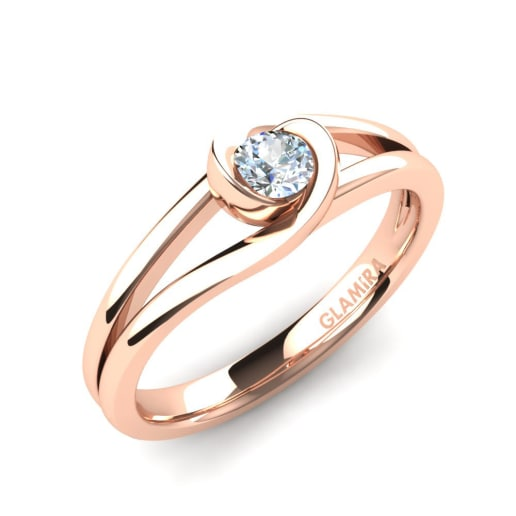 e1d5b45d8b02 Glamira Anillo Donisha 0.16 crt - Oro Rosa 585