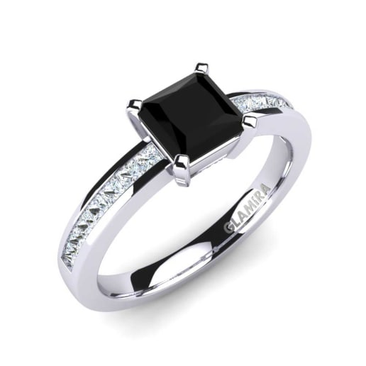 ring jewellery an this gives elegance of modern contemporary diamond pin black styling air