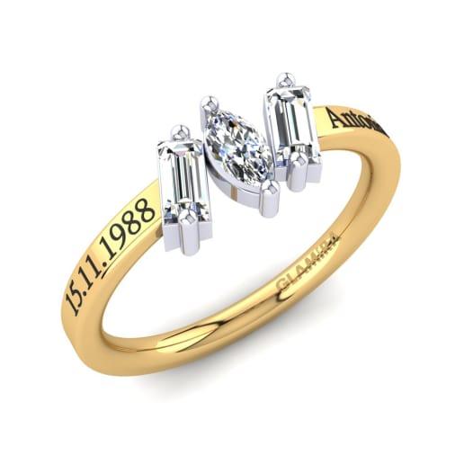 GLAMIRA Žiedas Tieshia
