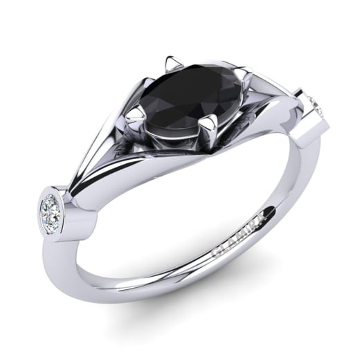 Black And White Diamond Enement Rings For | Get Black Diamond Engagement Rings Glamira Ie