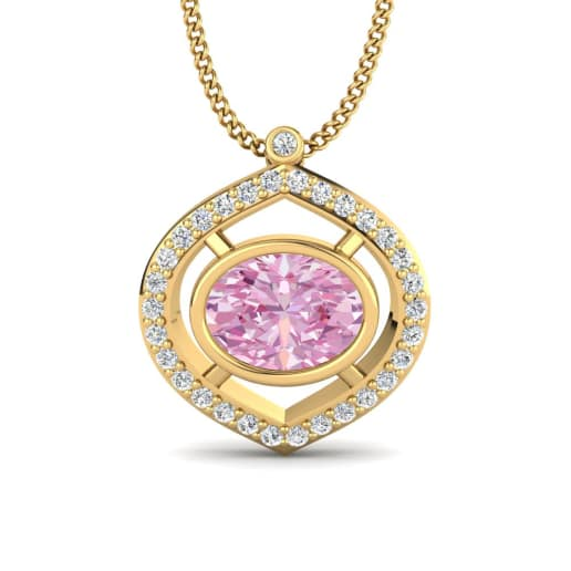 sapphire diamond natural allure gems designer fine pink jewels necklaces jewellery collection and necklace